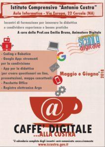 Caffè digitale alla Custra