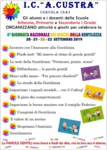 Locandina Gentilezza 2019